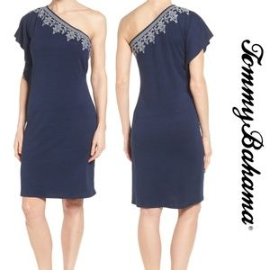 Tommy Bahama  Lovelin One-Shoulder Dress NWT Med